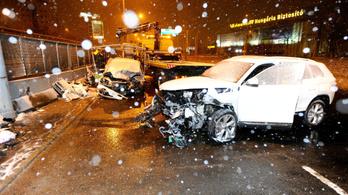 A forgalommal szemben ment az M3-ason Zuglóban