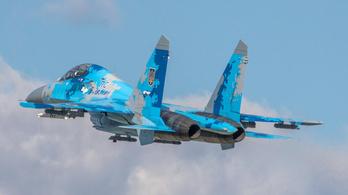 Lezuhant egy ukrán Szu-27-es vadászrepülőgép, a pilóta meghalt