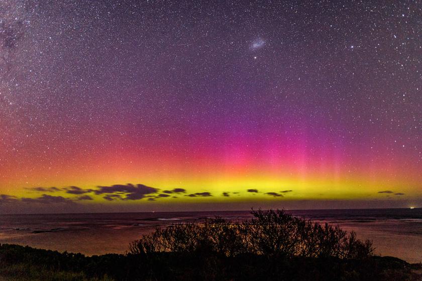 Ausztráliában, a Mornington-félszigeten csodálatos képek készülnek.