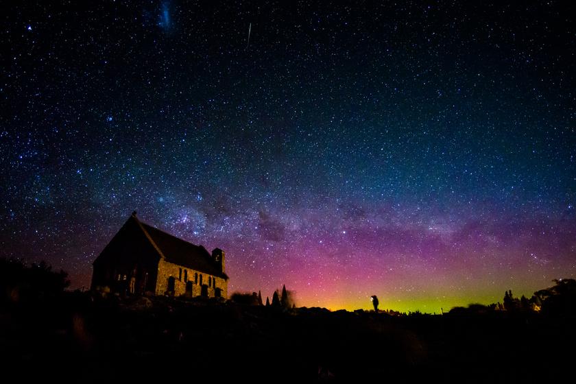 Talán még szebb, mint az északi sarki fény! Mesebeli képeken az aurora australis