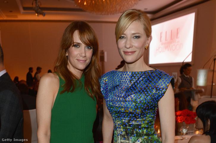 Kristen Wiig és Cate Blanchett