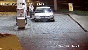 Lopott rendszámtáblát szerelt a kocsijára, fizetés nélkül lelépett tankolás után