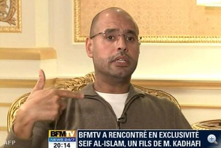 Moammer el-Kadhafi egyik fia, Szeif al-Iszlám Kadhafi a lázadók kezén