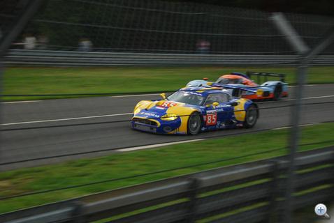 A V8-as Audi motorral szerelt Spyker szépen ment, konstans tempóban nyomta végig a versenyt, mechanikai hiba nélkül