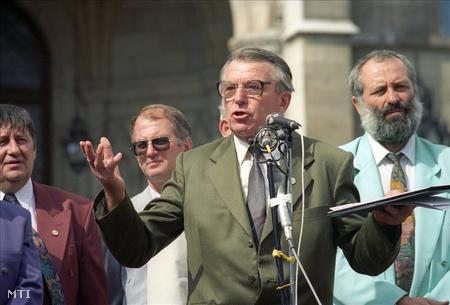 Gerbovits Jenő 1993-ban (Fotó: Illyés Tibor)