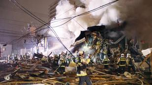 Robbanás egy japán étteremben, 41 sérült