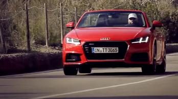 Az Audi TT-ben van bugi!