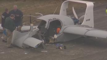 Csúnya baleset lett egy repülő autó tesztjéből