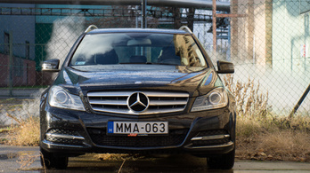 Használtteszt: Mercedes-Benz C 220 CDI BlueEFFICIENCY T-modell (S204) - 2013.