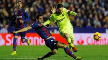 Messi gurított hármat, de milyen gólpasszt adott