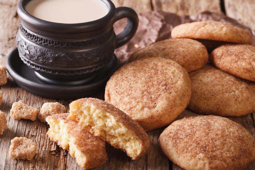 Olcsó és gyors fahéjas keksz, amit jó előre elkészíthetsz