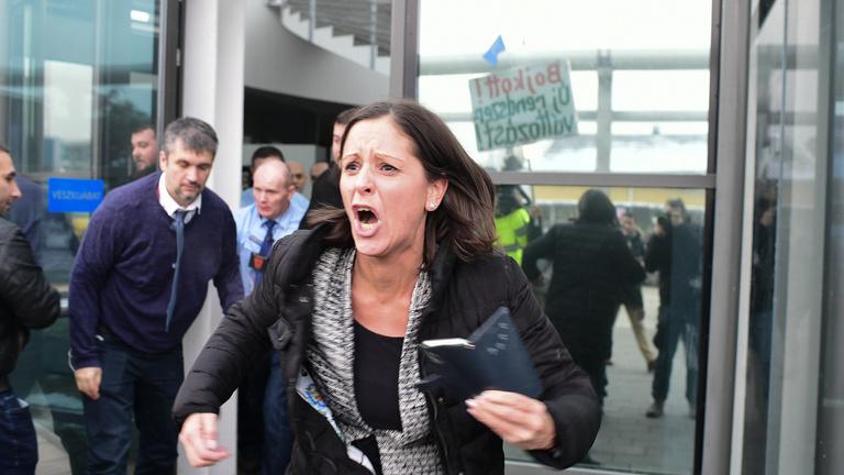 A jegyzőt küldte maga helyett az MTVA vezetője az ellenzéki politikusokhoz