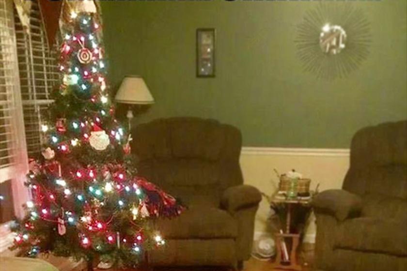 Így reagált a kutya, amikor pár percre egyedül hagyták a karácsonyfával - Imádjuk!