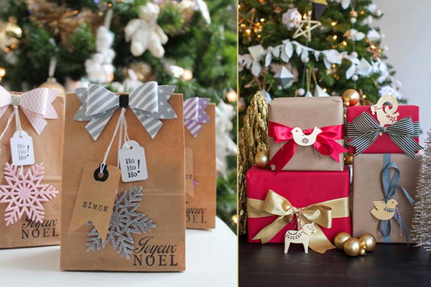 Kreatív ajándékcsomagolási ötletek