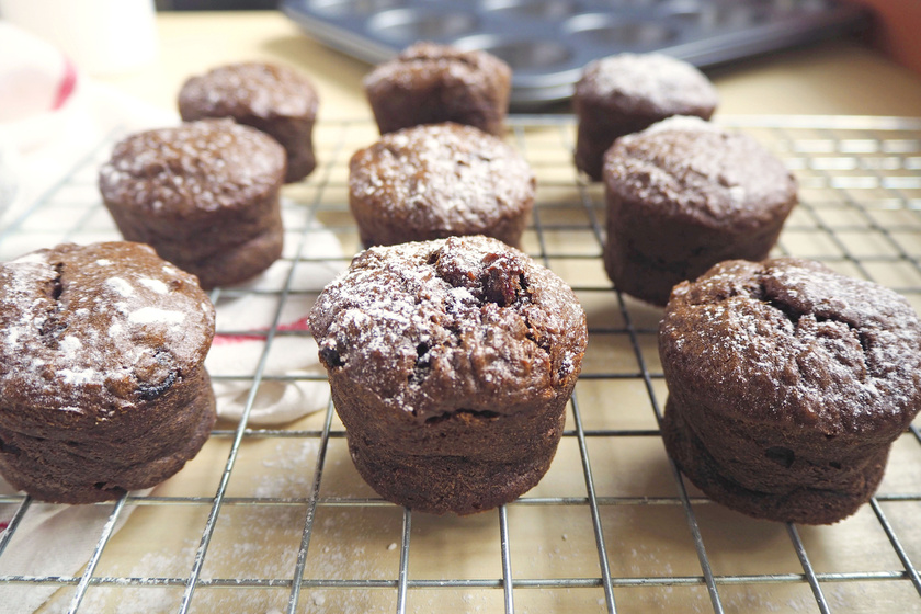 Pofonegyszerű, nutellás-banános muffin: esélye sincs kiszáradni