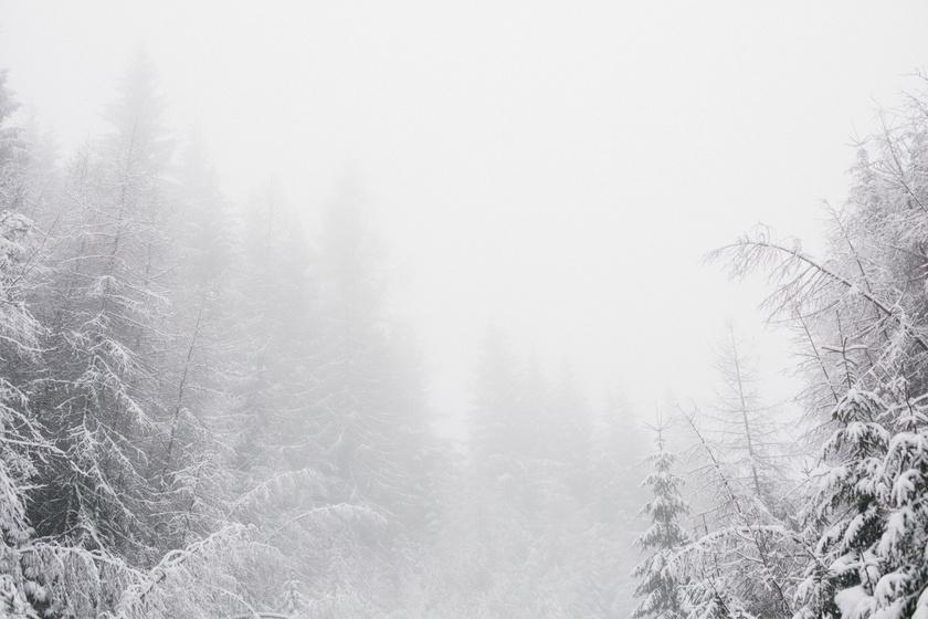 Megmarad a hó a héten? Kemény mínuszokra és ónos esőre is számíthatunk
