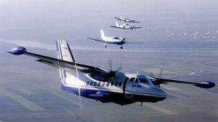 100 éves repülés, L-410-ből nézve