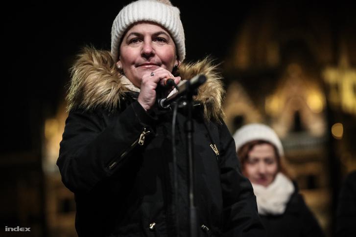 Varga-Damm Andrea 2018. december 16-án.