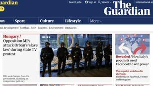 Orbán ellenzékével és slave law-jával lett tele a világsajtó