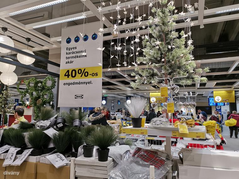 Az IKEA-ban meg sem várták, hogy karácsony legyen, már most elkezdődtek a leértékelések