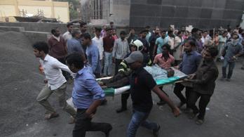 Kigyulladt egy kórház Indiában, többen meghaltak