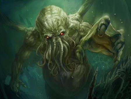 Lovecraft 1926 nyarán találta ki a kultikus főszörnyet, Cthulhut