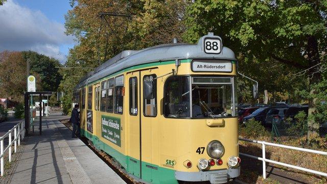 Régi és új a schöneiche-rüdersdorfi villamoson