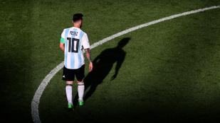 Messi 30 mezt küldött a horvát válogatottnak
