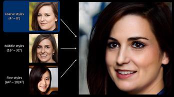 Rémisztően jó hamis arcokat gyárt az AI