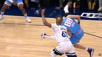 Nem trükk, kényszer cipővel védekezni az NBA-ben