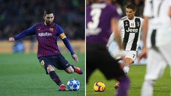 Lewandowski készül letaszítani Messit és Ronaldót