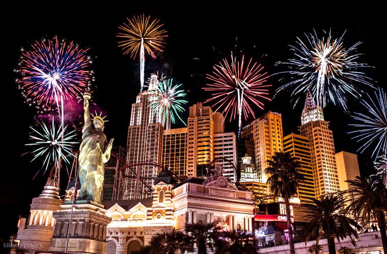 A Sin City néven is emlegetett Las Vegas népszerű úti célszilveszterkor