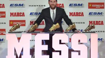 Csak jutott valami arany Messinek is
