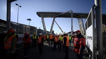 Jövőre új híd állhat az összeomlott genovai viadukt helyén