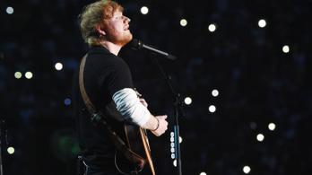 Ed Sheeran hülyére kereste magát 2018-ban is