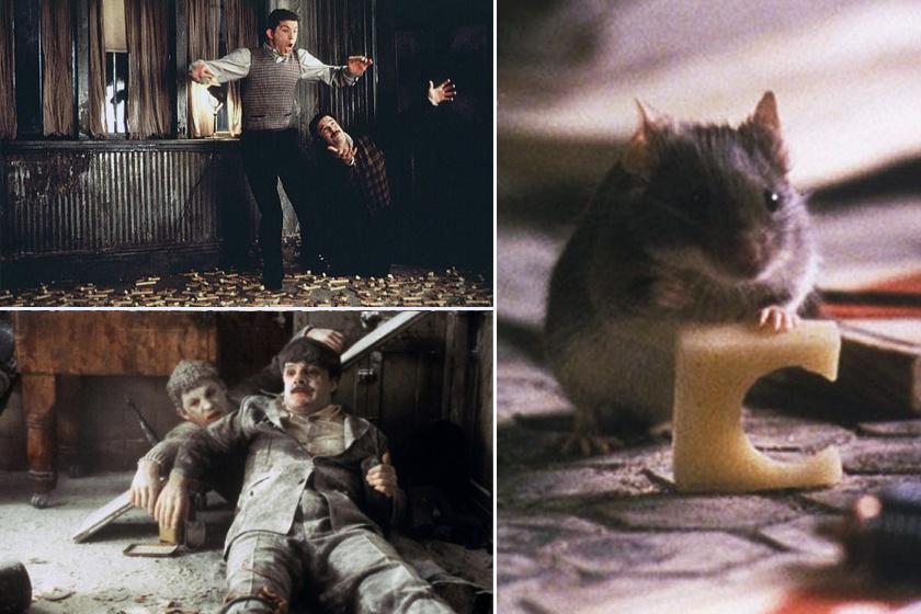 Hogyan csinálhat palimadarat egy apró egér két újdonsült háztulajdonosból? Az 1997-es Egértanyán rengeteget fogtok nevetni.