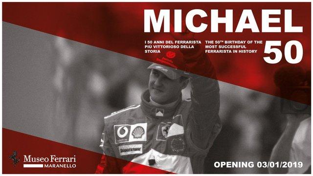 Schumacher-kiállítás nyílik Maranellóban
