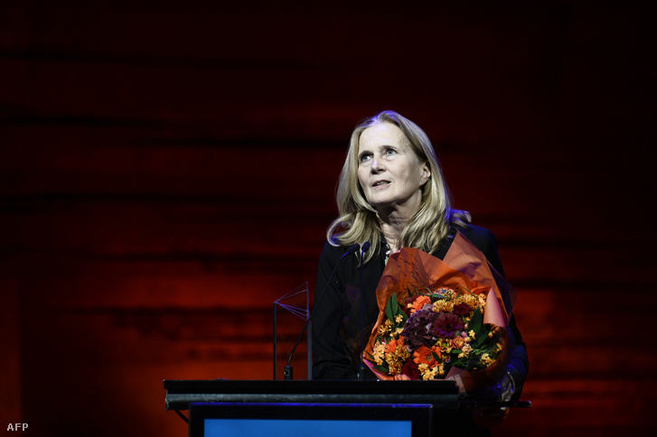 Katarina Frostenson 2016-ban.
