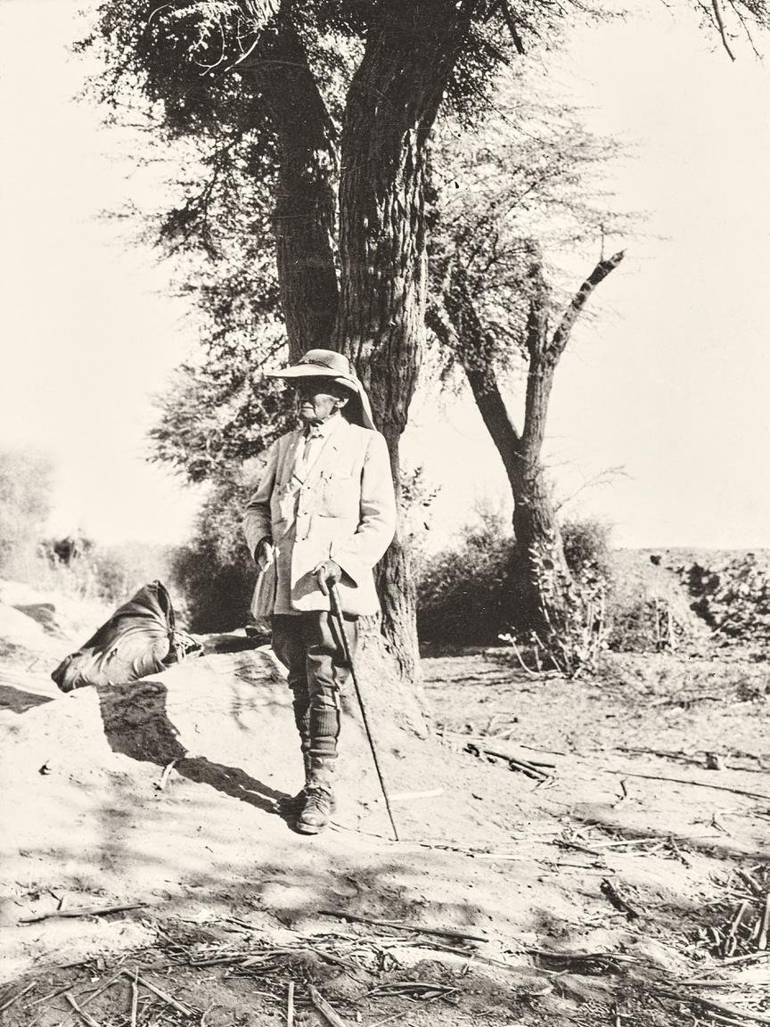 """Gyermekkori példaképe, Nagy Sándor nyomában valójában egész életében Afganisztánba szeretett volna eljutni, az ősi, hellenisztikus Baktria emlékeit akarta kiásni. Azt mondta, valójában ez vitte az orientalizmus felé, ez vezette már akkor is, amikor elhagyta Magyarországot, és Angliába, majd Indiába vetette a sors. A nagyhatalmi versengés és a kutatókat is korlátozó befolyási övezetek azonban több mint négy évtizeden át megakadályozták, hogy beteljesüljön az álma. Már 80 éves is elmúlt, amikor 1943-ban váratlanul mégis meghívást kapott a naplójában csak """"ígéret földjének"""" hívott Afganisztánba. Patkányvadászatban is jártas új foxija, Dash VII kísérte el az útra, mely gazdája számára az utolsó lett. Kabulba érkezése után Stein gyorsan megbetegedett, és egy héten belül meghalt - mint Mózes, ő is csak megpillanthatta a maga Kánaánját.""""Csodálatos életem volt, ami nem is fejeződhetett volna be boldogabban, mint Afganisztánban, ahova hatvan éve vágytam eljutni"""" – ezek voltak az utolsó szavai."""