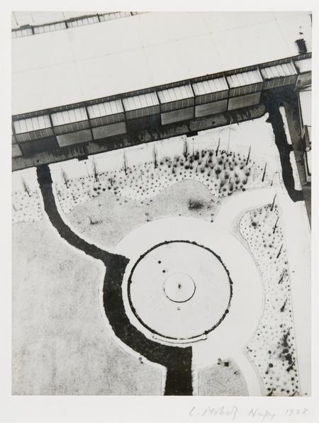 Kilátás a berlini rádiótoronyból, 1928 Zselatinos ezüst, 28 x 21,3 cm
