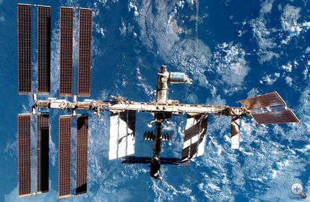 A Nemzetközi Űrállomás (ISS) (forrás: ESA)