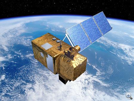 A Sentinel-2 műhold alkatrészeinek egy részét az Admatis Kft. szállítja. Fellövése 2012-ben várható (forrás: ESA)