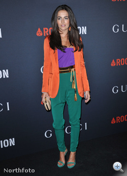 Camilla Belle színésznő színes összeállítása idén februárban