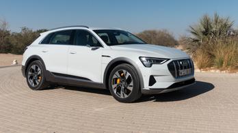 Bemutató: Audi E-tron 55 Quattro - 2018.