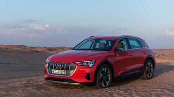 Máris úton van az Audi következő elektromos SUV-ja