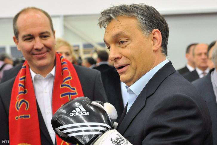 Orbán Viktor és Markovits László 2012. december 4-én