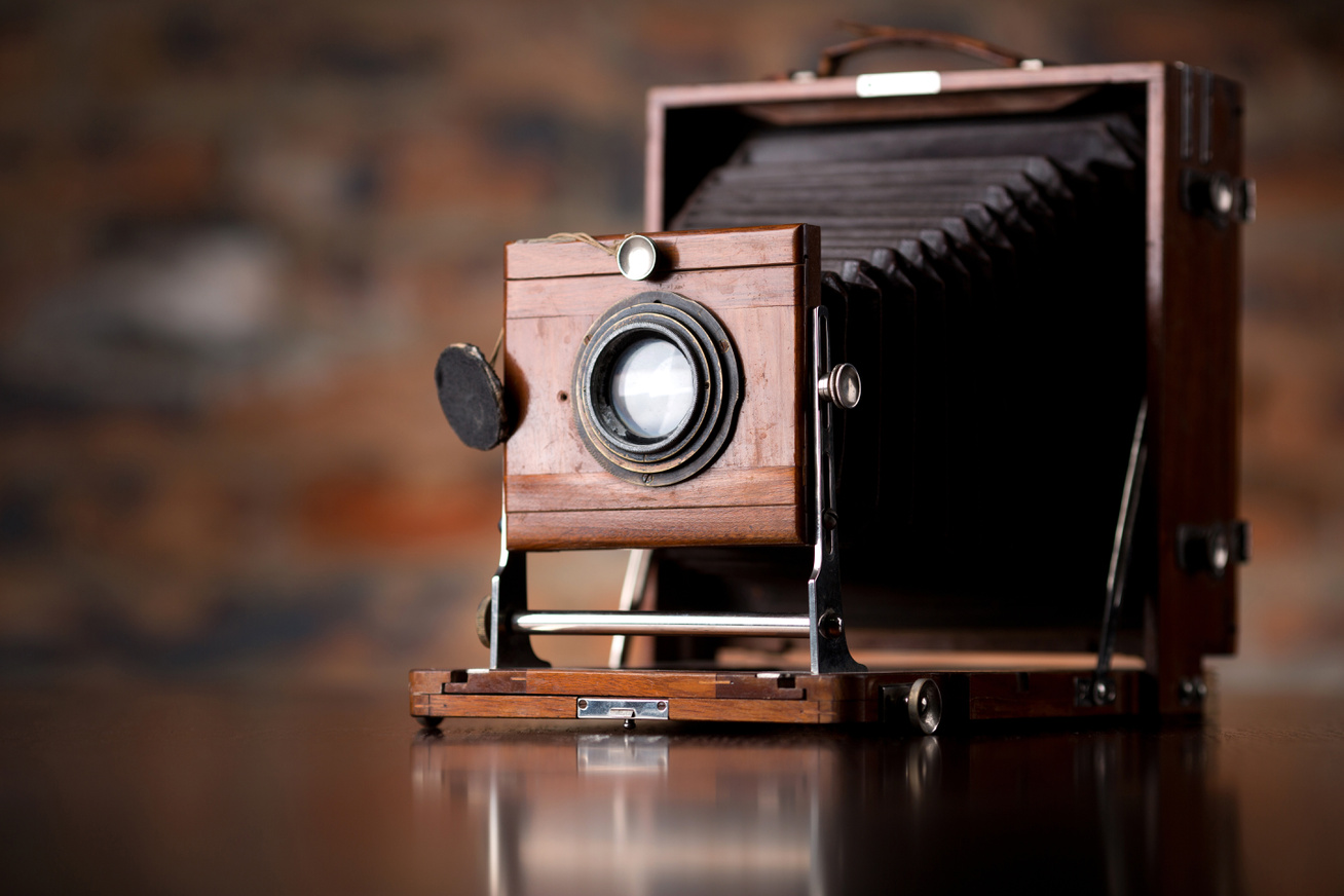 autokróm kamera vintage