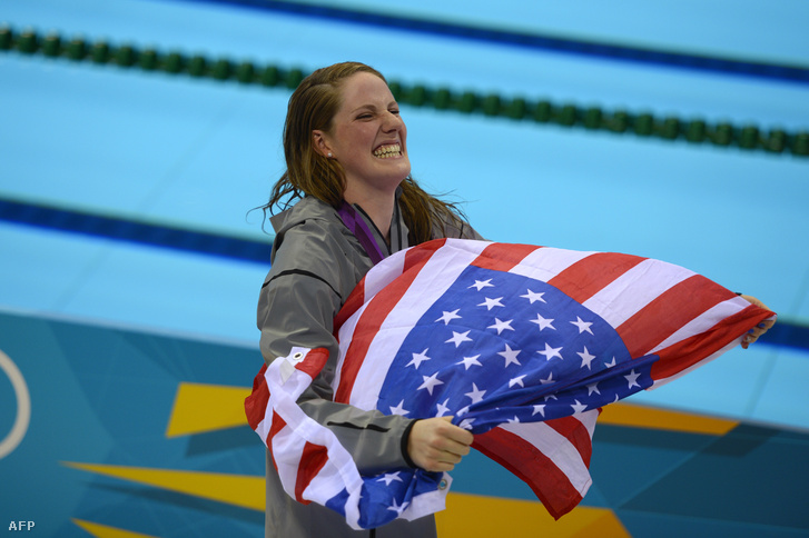 Missy Franklin 2012-ben a londoni olimpián