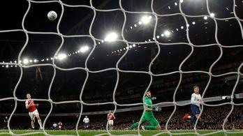 Megalázóan egyszerű és egyforma gólokkal verte a Tottenham az Arsenalt
