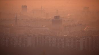Budapesten elrendelték a szmogriadó tájékoztatási fokozatát